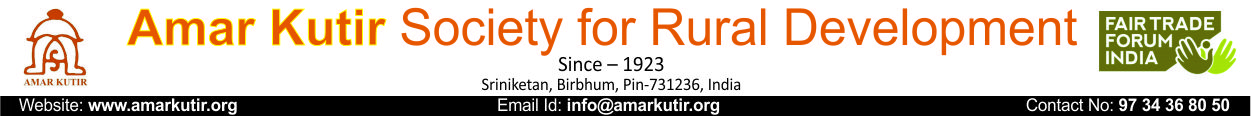 Amar Kutir Society for Rural Development, Sriniketan, Birbhum, West Bengal, India
